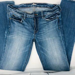J Crew Boyfriend Straight Leg Jeans